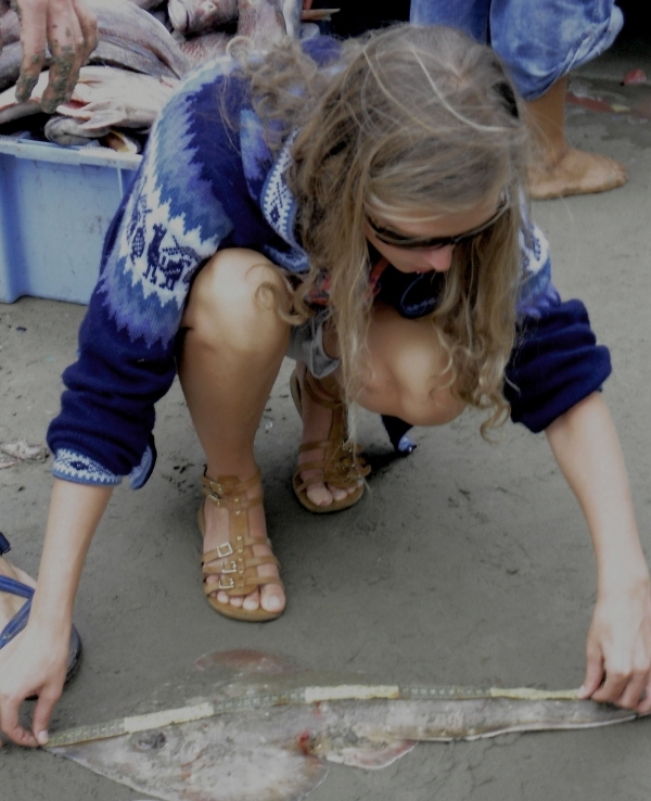 Alexandra measuring Skates
